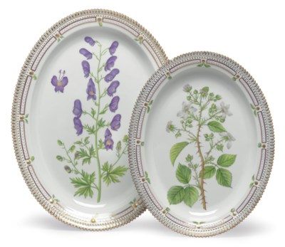 TWO ROYAL COPENHAGEN PORCELAIN