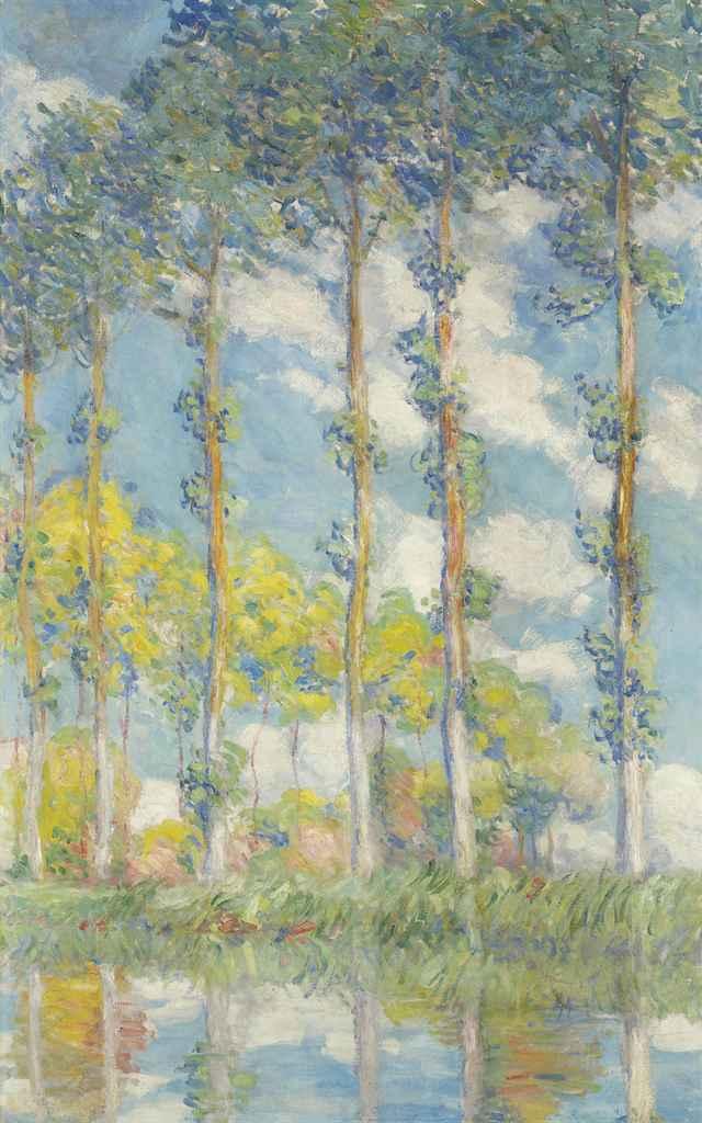Claude Monet (1840-1926) <BR> Les Peupliers <BR>