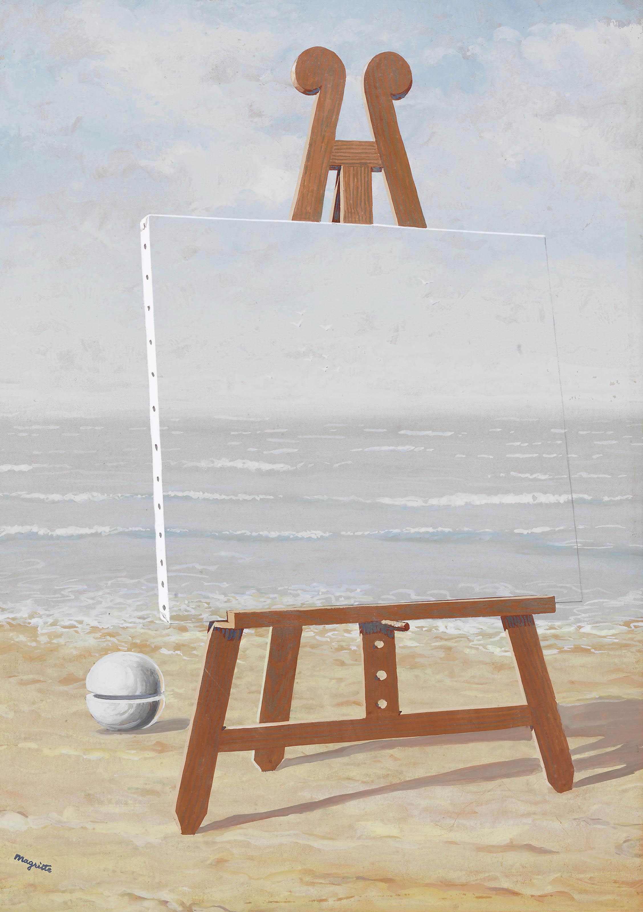 Rene Magritte (1898-1967) <BR>La belle captive <BR>