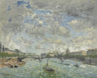 Vue de la Seine, Paris
