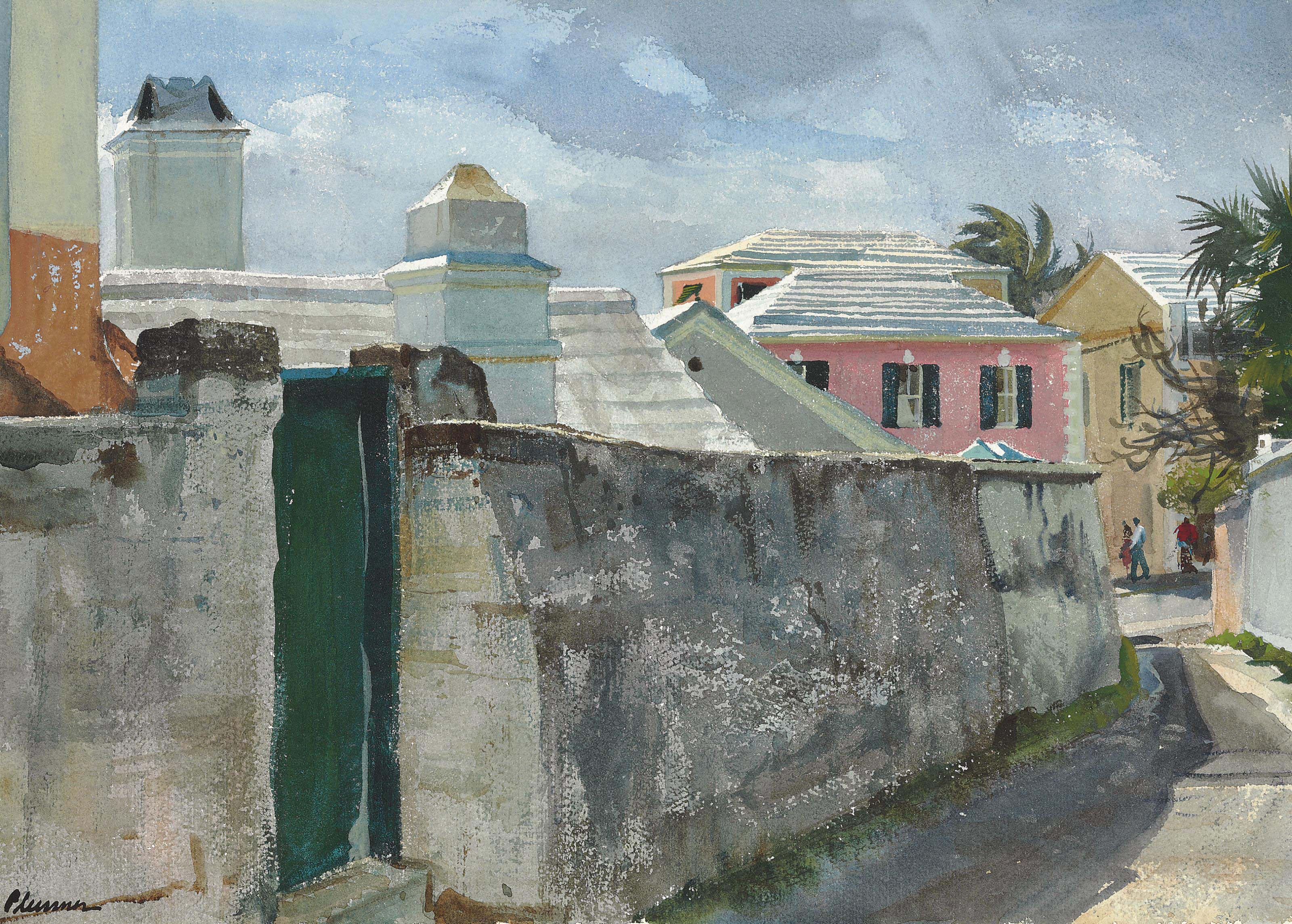 Old Maid's Lane, Bermuda