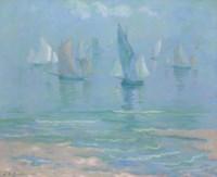 Sailboats at Dieppe