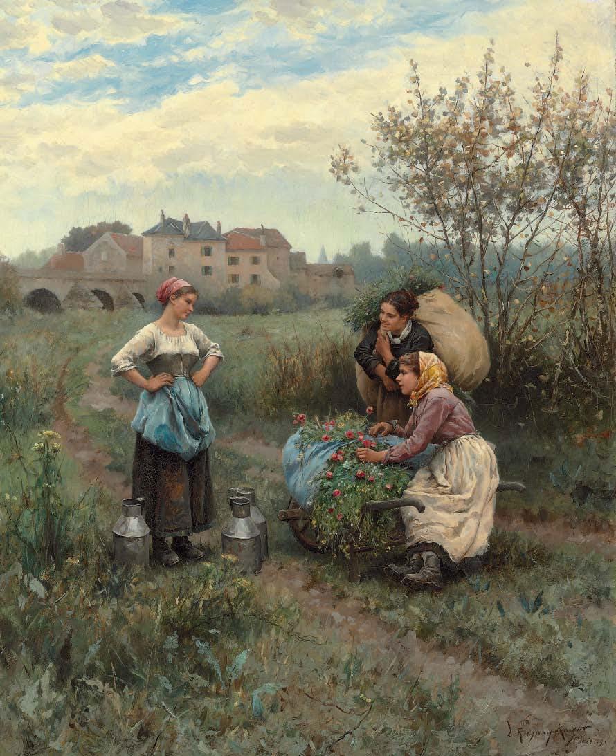 Three Women in a Landscape