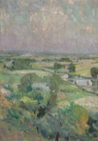 Vallee de L'Oise vue des hauteurs de Chaponval