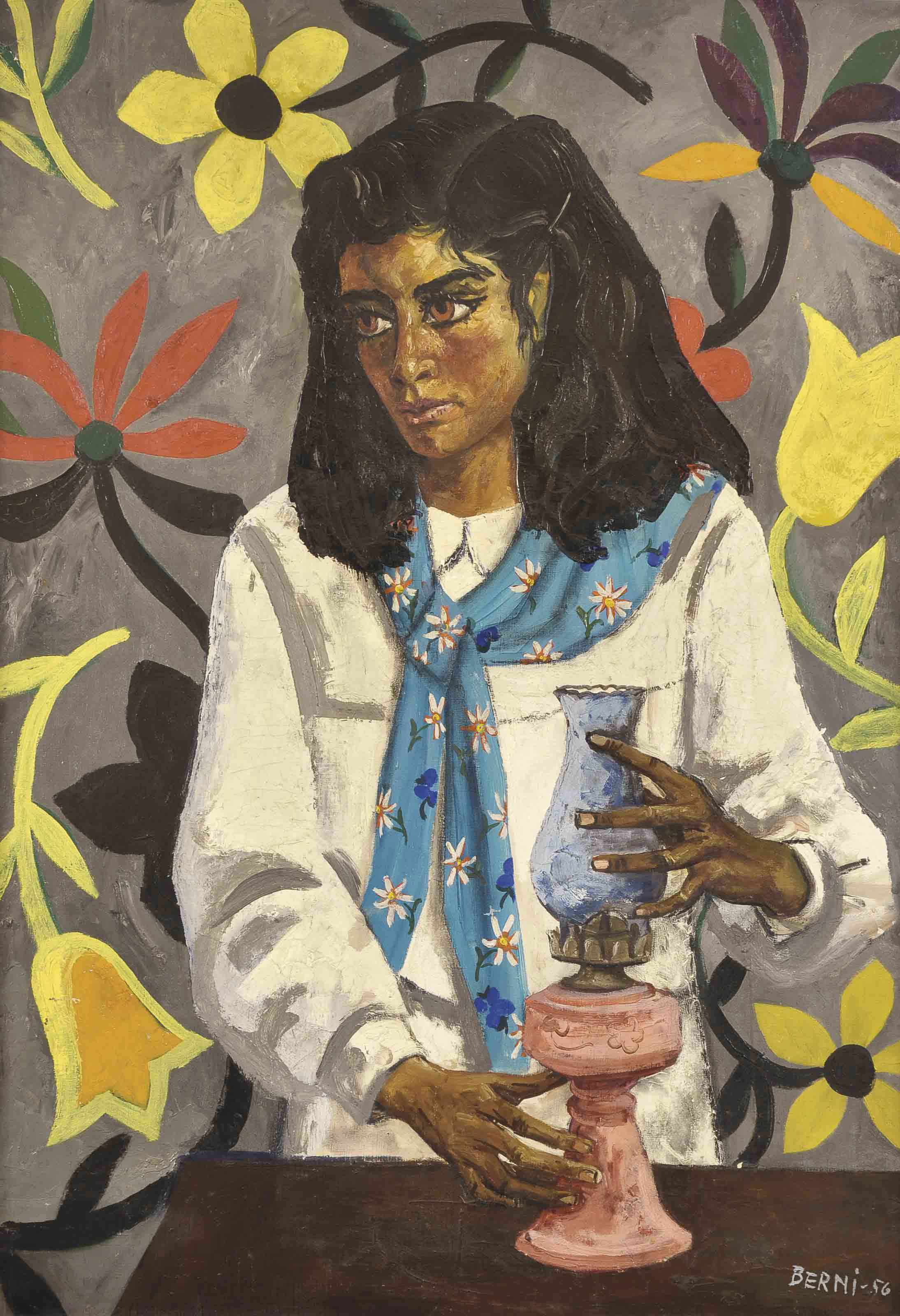 Retrato de Eleuteria Díaz