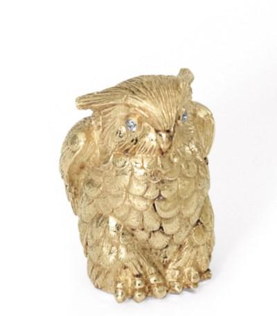 AN ITALIAN GOLD AND DIAMOND OW