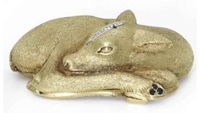 A FRENCH GOLD, DIAMOND, AND SA