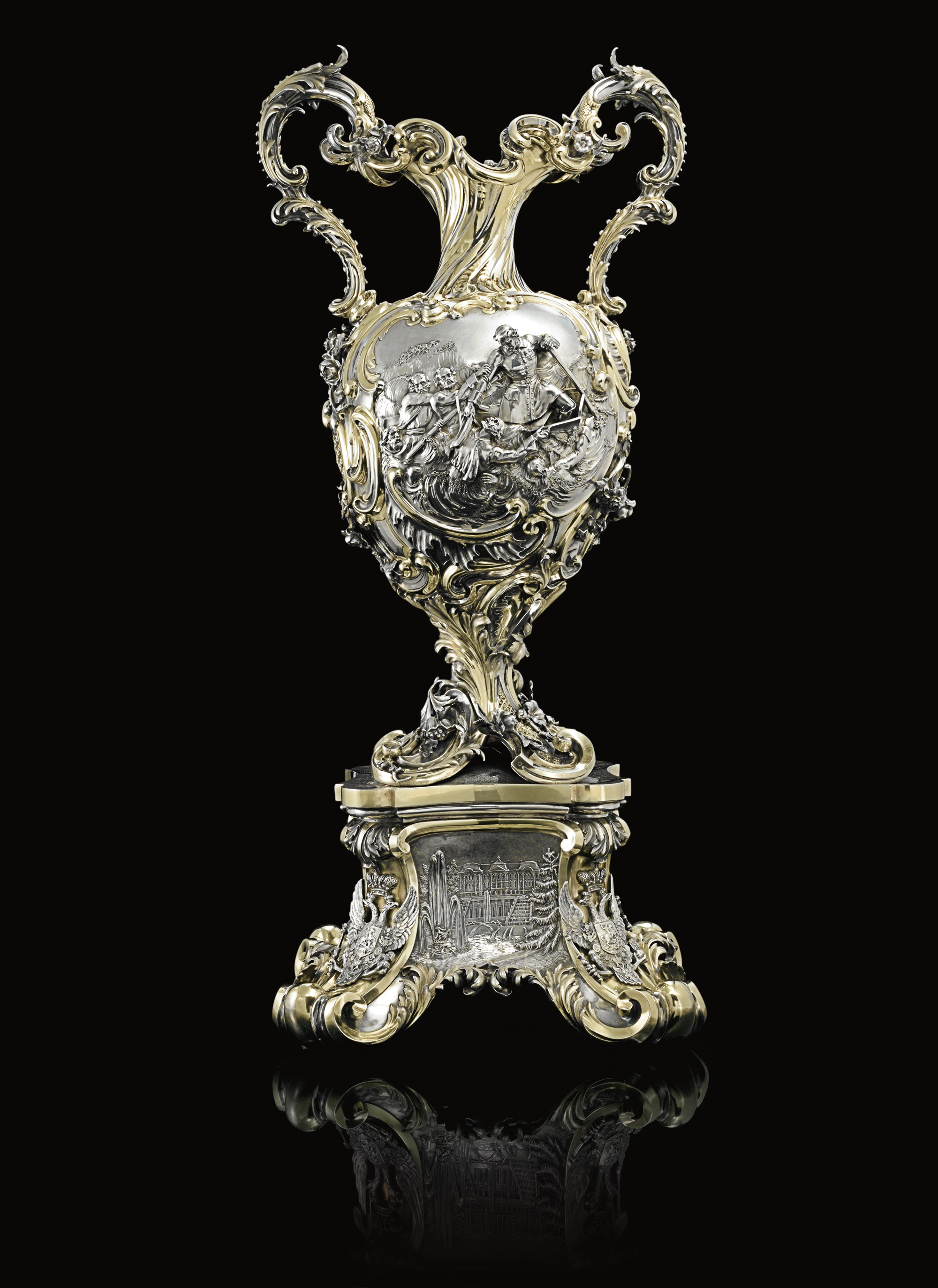 THE EMPEROR'S PLATE (ASCOT GOLD CUP): A MAGNIFICENT VICTORIAN SILVER RACING TROPHY, PRESENTED BY EMPEROR NICHOLAS I OF RUSSIA