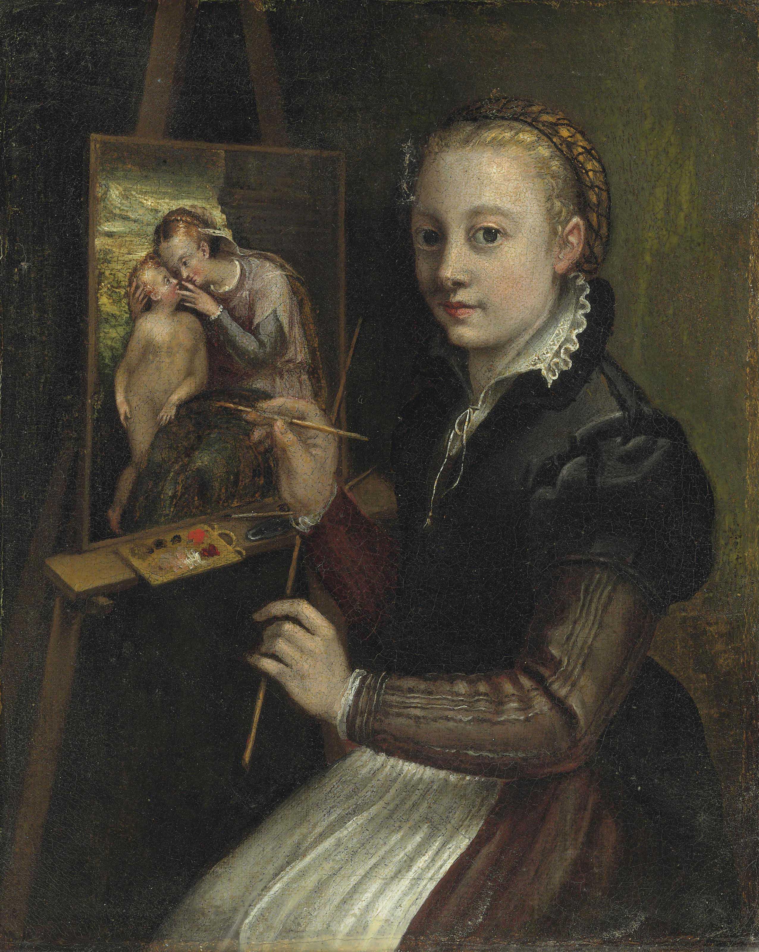 Attributed to Sofonisba Anguissola (Cremona c. 1532-1625 Palermo)
