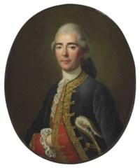 Portrait of the Chevalier de Turenne, half-length