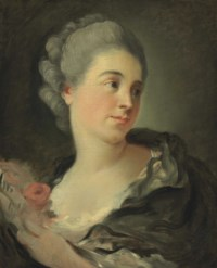 Portrait of a young woman, presumably Marie-Thérèse Colombe