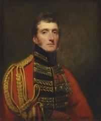 Portrait of Lieutenant General William Stuart, half-length, in uniform