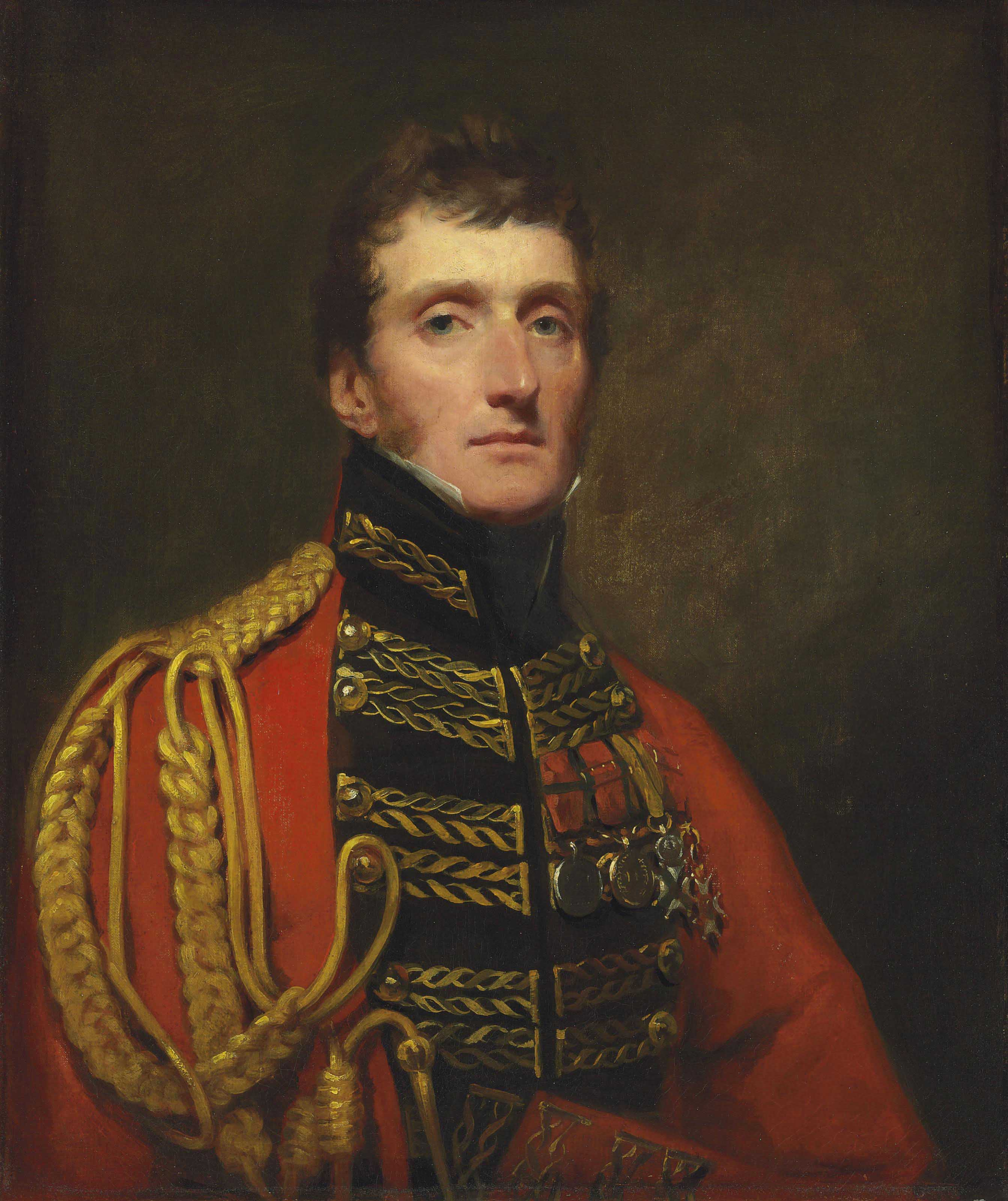 Portrait of Lieutenant General William Stuart, half-length, in uniform