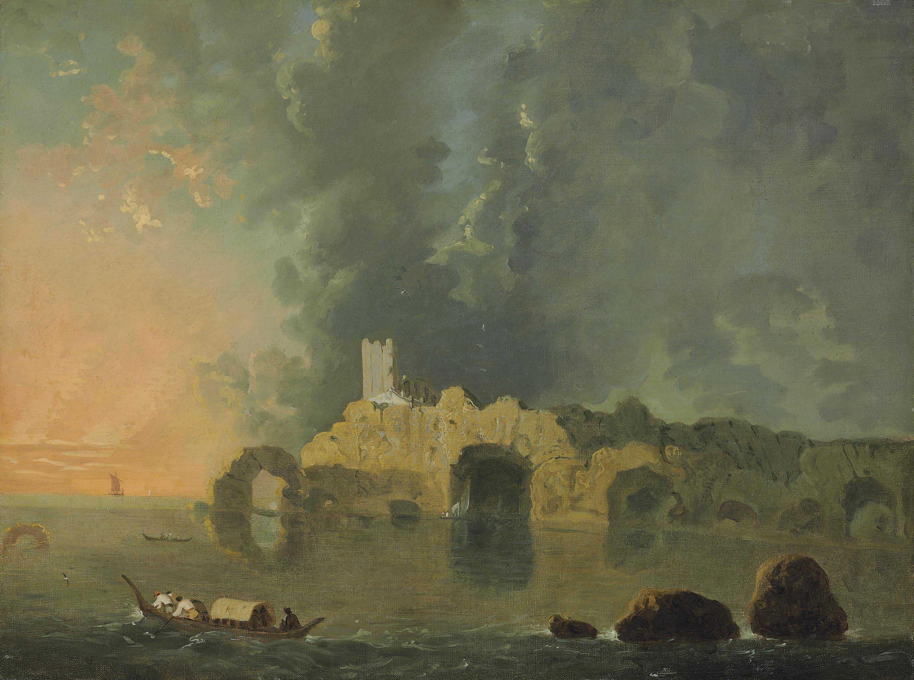 Richard Wilson, R.A. (Penegoes, now Powys 1713/4-1782 Colomendy, now Clwyd)