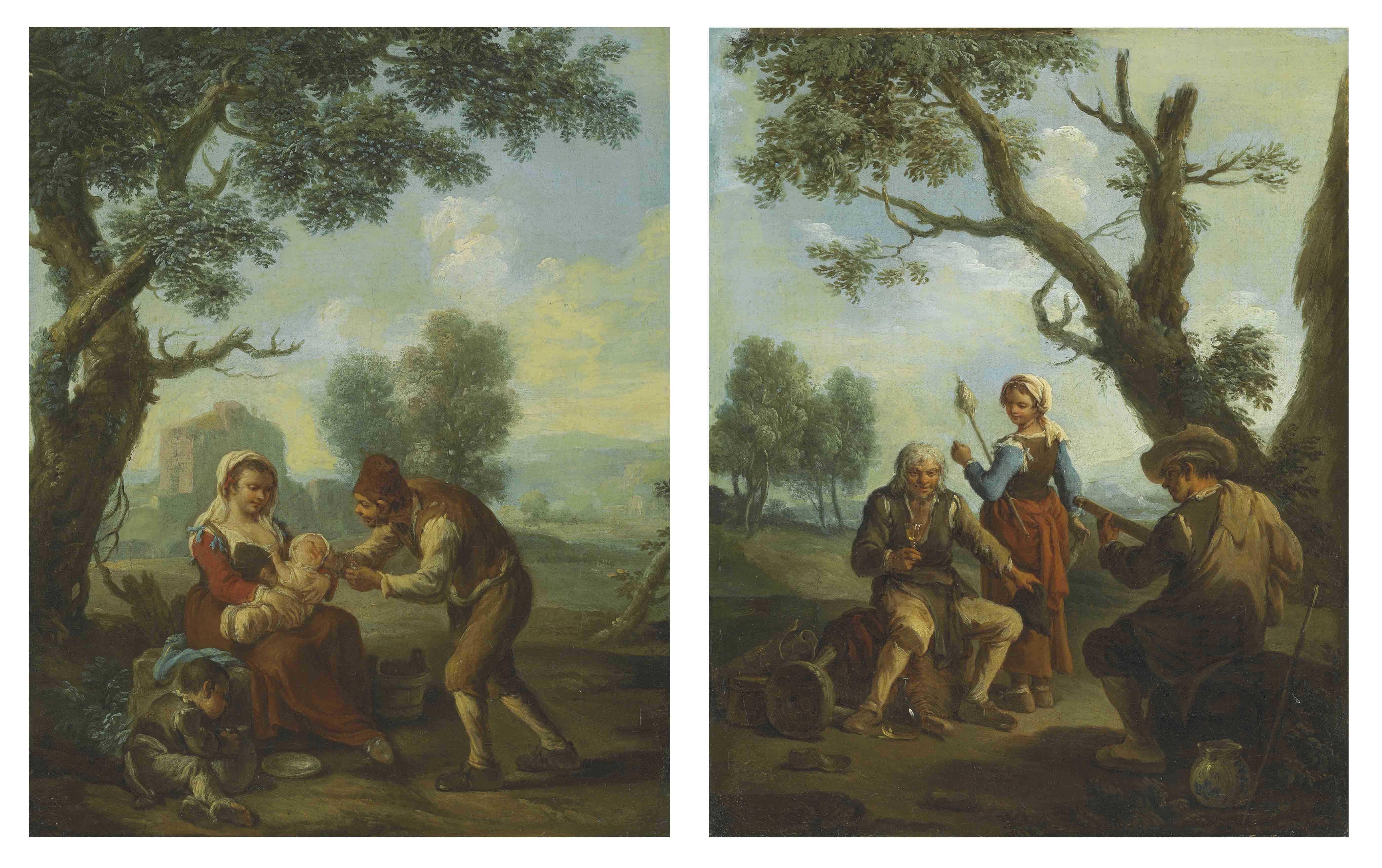 Paolo Monaldi (active Rome c. 1750-1800)