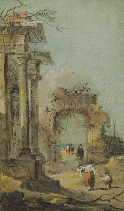 Francesco Guardi: Francesco Guardi (Venice 1712-1793) , Capriccio Of
