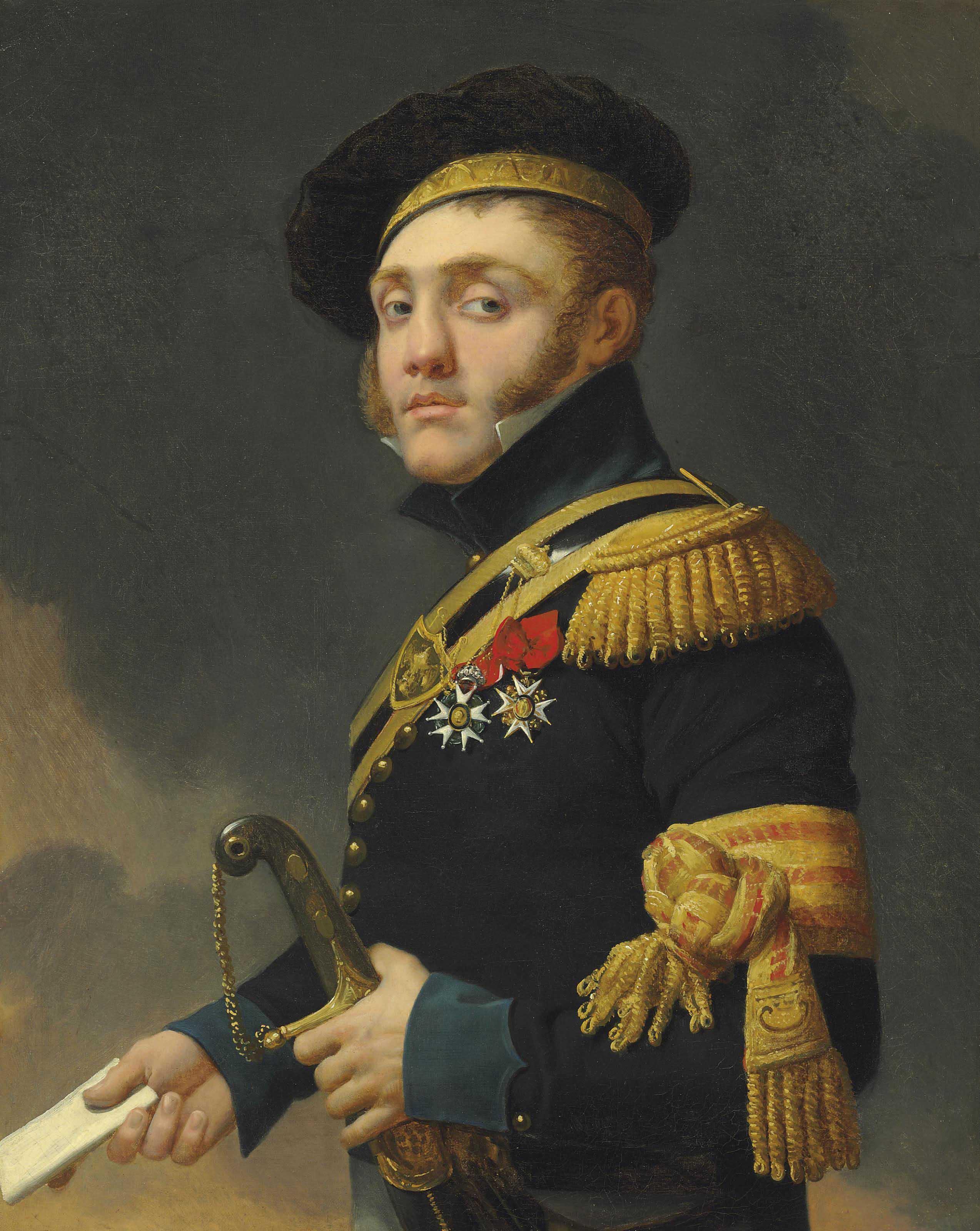 Portrait of the artist's son, Antoine-Louis Regnault (1788-1856)