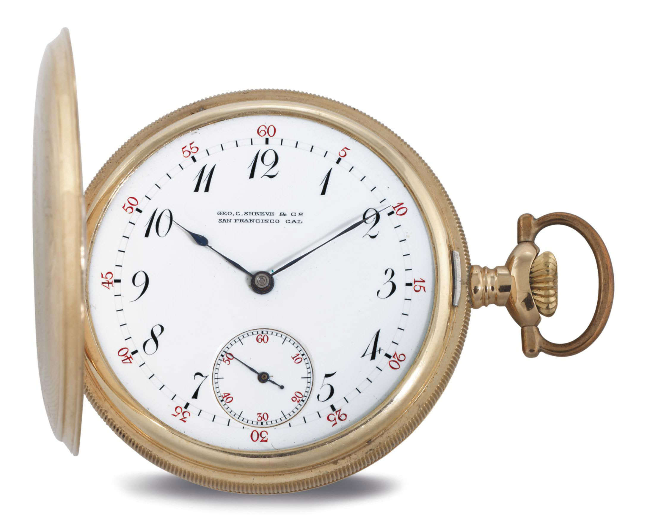 91307fd5e48 PATEK PHILIPPE. A 14K GOLD HUNTER CASE KEYLESS LEVER POCKET WATCH ...