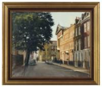 View of Cheyne Row, London