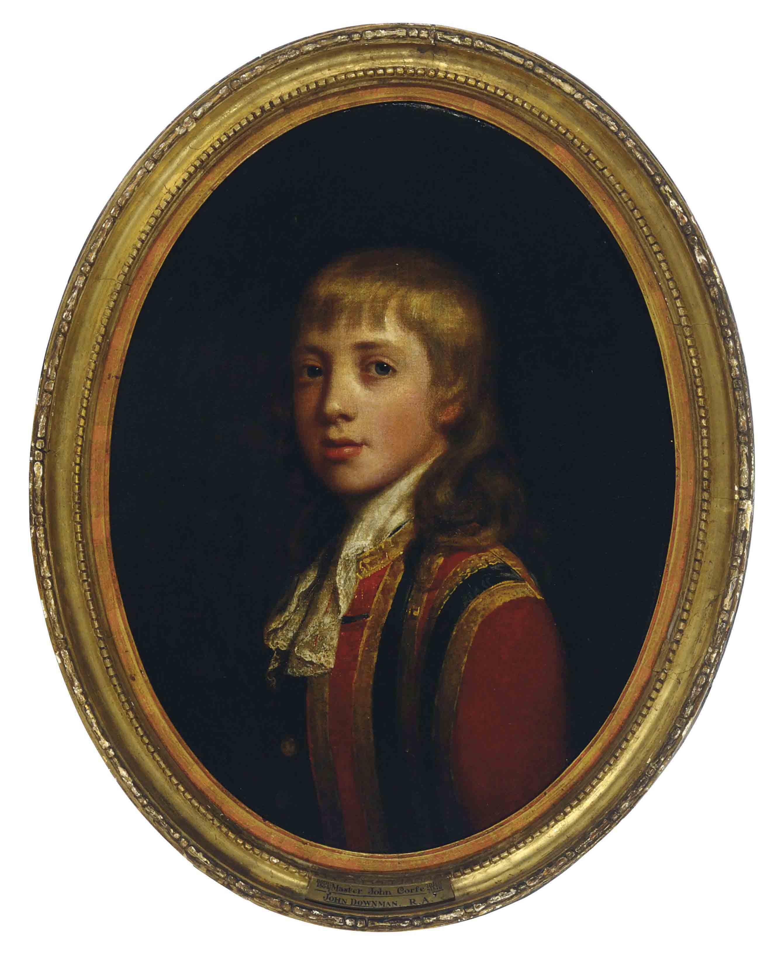 Portrait of Master John Corfe