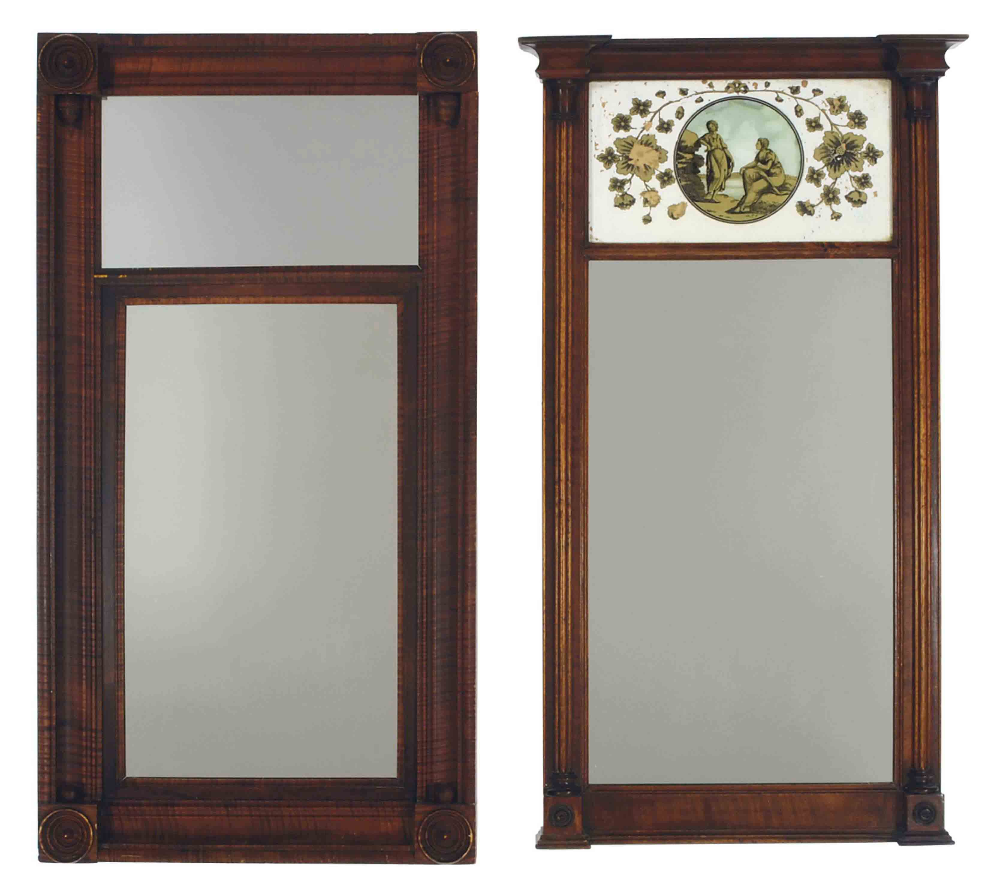 A GROUP OF THREE AMERICAN MIRRORS,