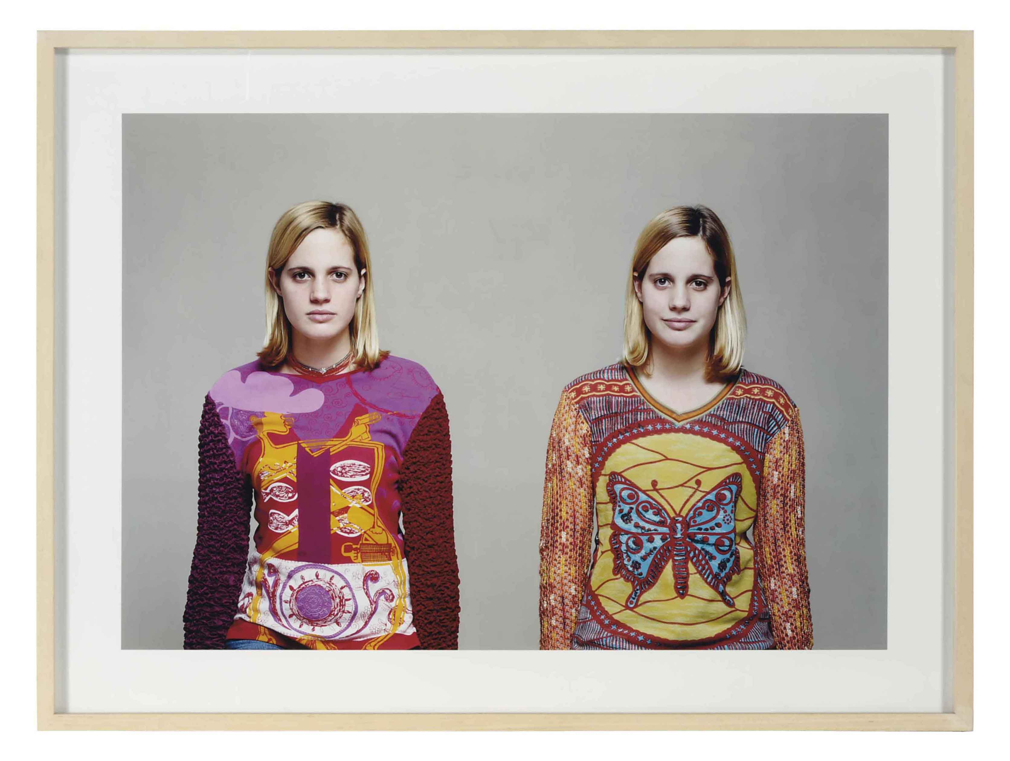 Friends and Enemies, Margot and Caroline, 2000