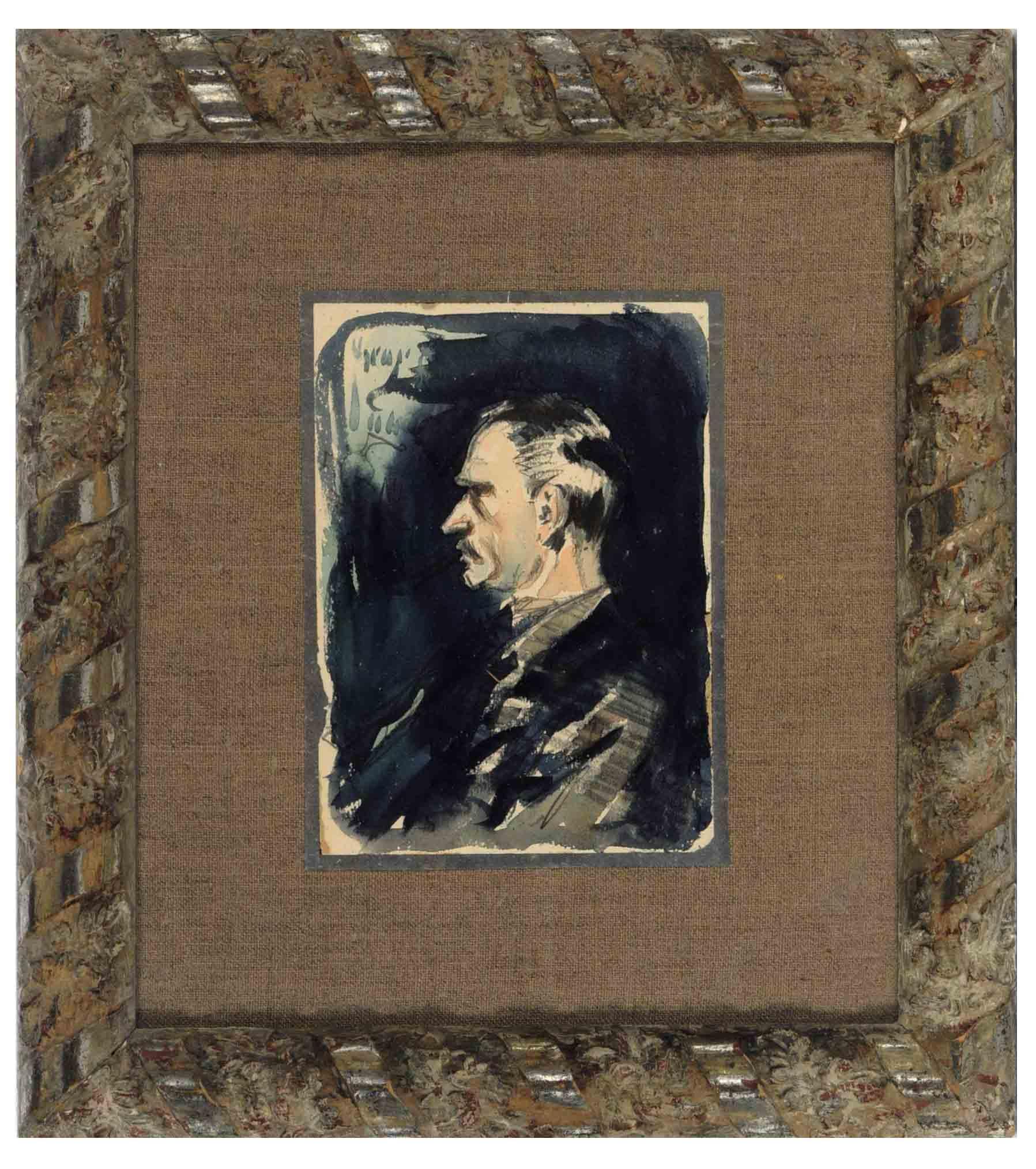Portrait of the artist Arthur Bowen Davies