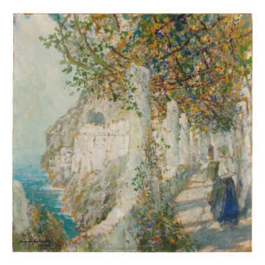 Old Cloister Walk, Amalfi