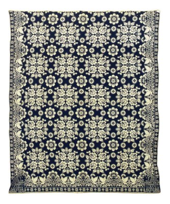 AN AMERICAN COVERLET,