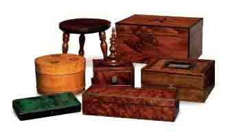 A COLLECTION OF VICTORIAN TABL