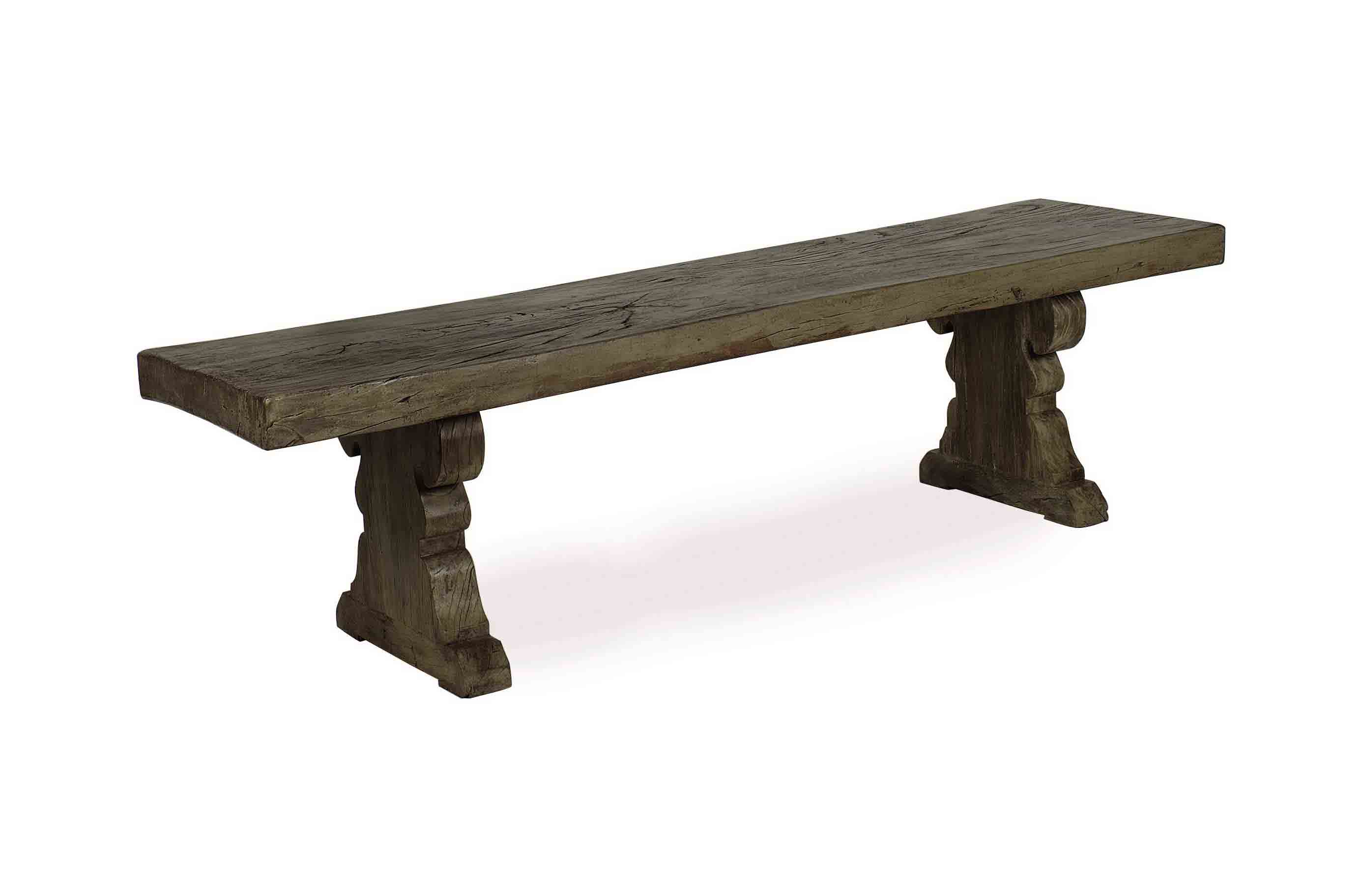 A SWEDISH GREY-PAINTED AND OAK