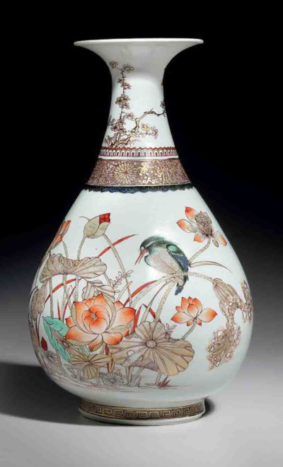 AN UNUSUAL FINELY PAINTED ANHU