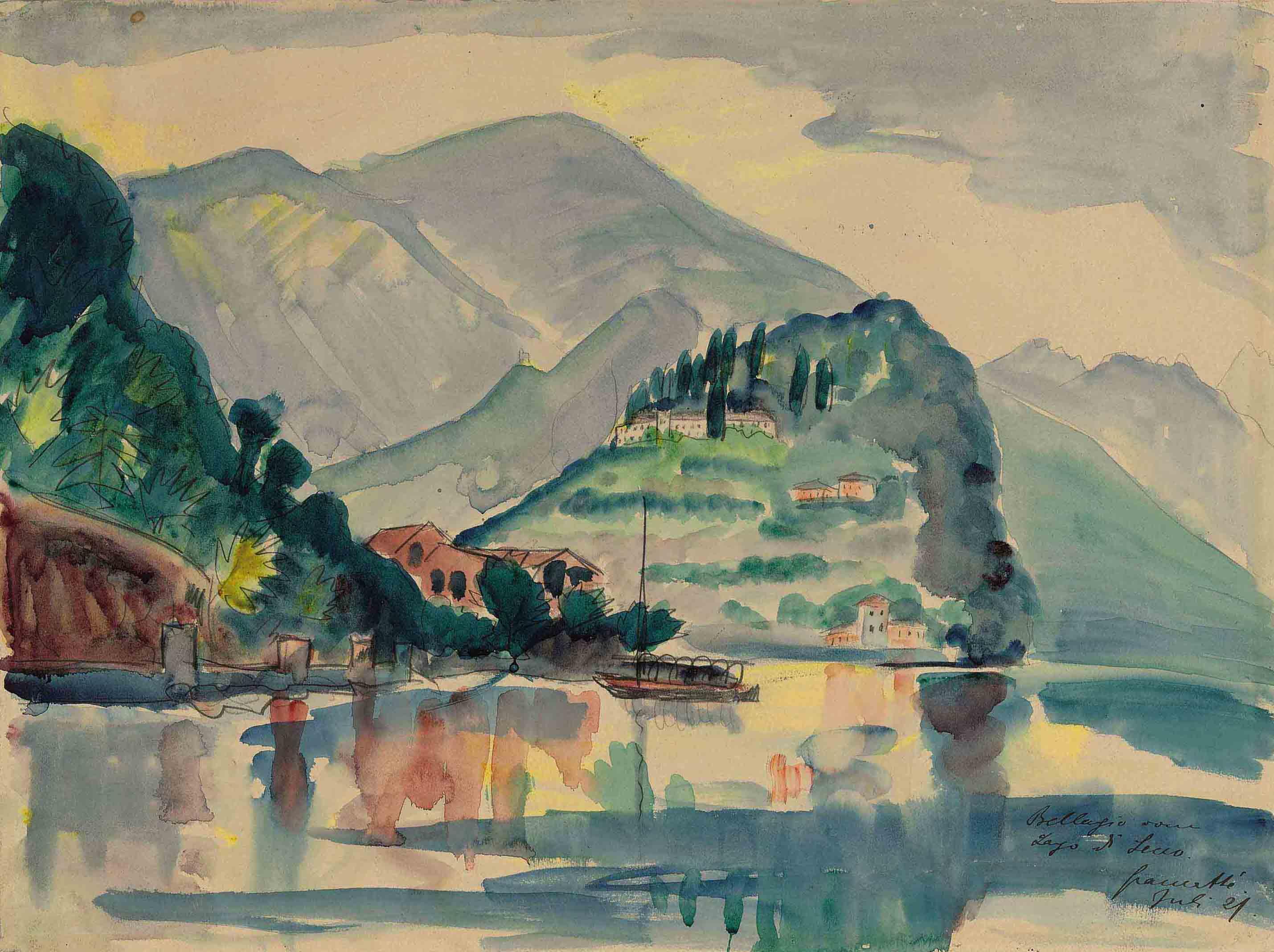 Bellagio am Lago di Lecco