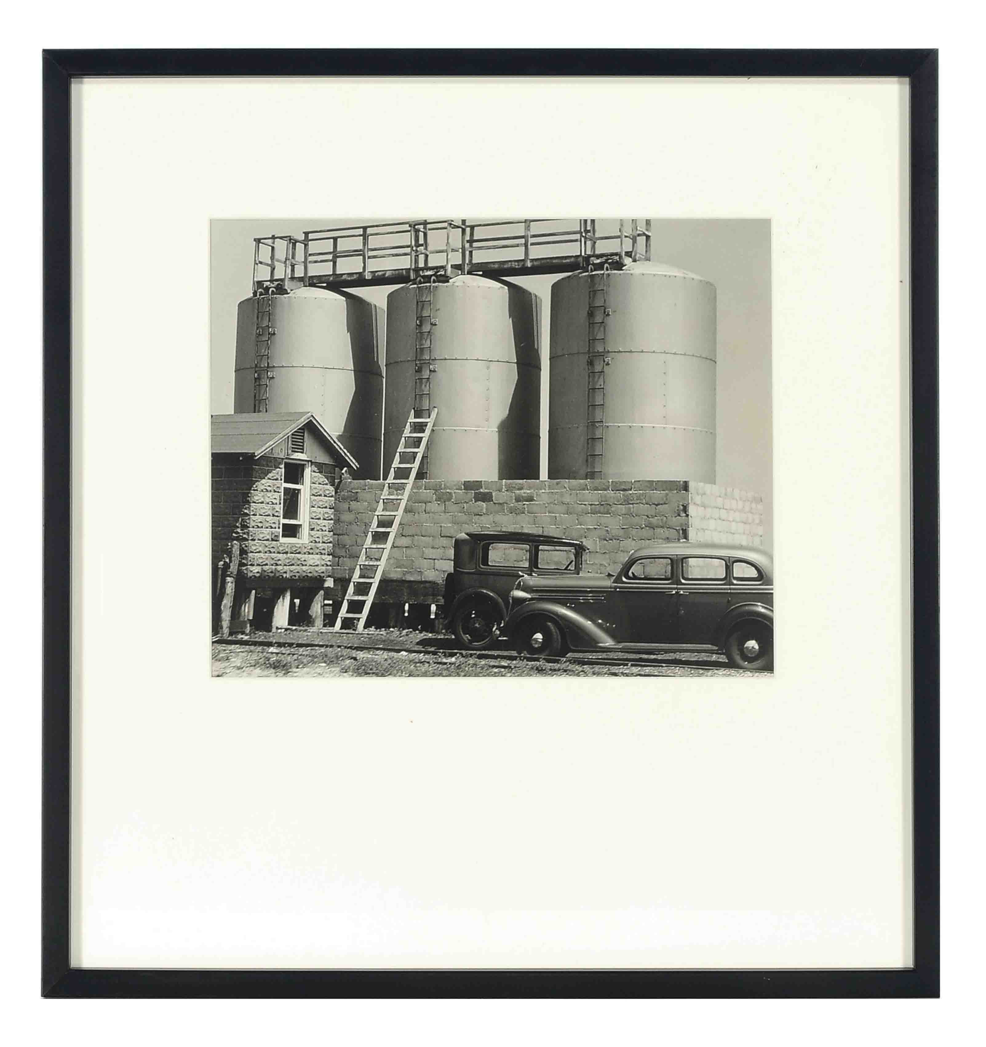 Untitled (Three silos), circa 1930s