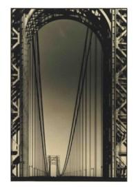 George Washington Bridge, Hudson River, New York, 1930
