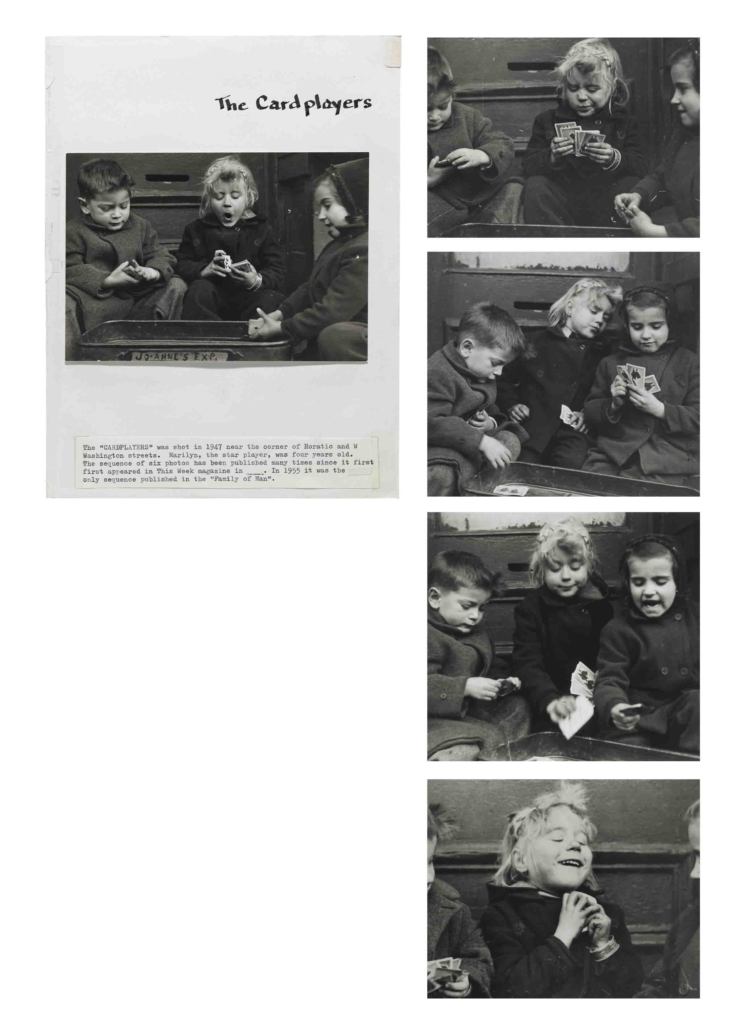 The Cardplayers, 1947