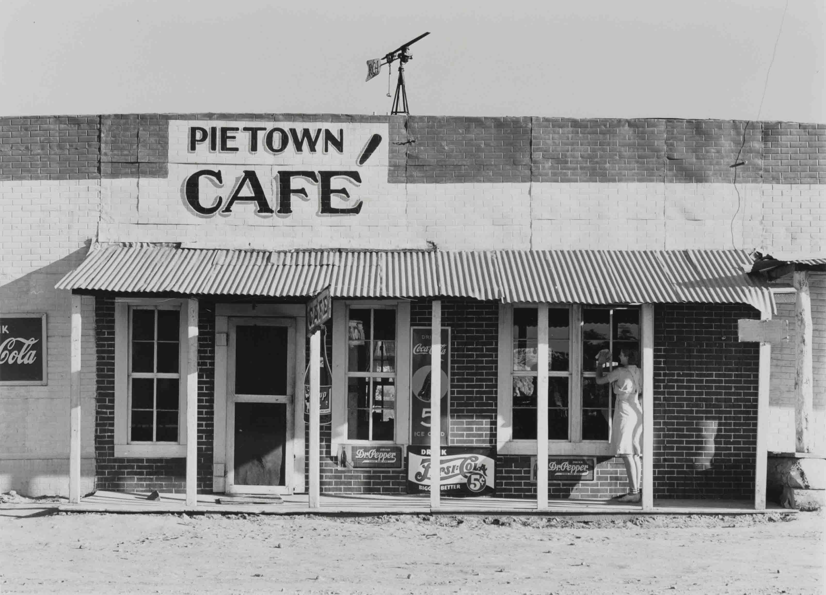 Pietown Café, c. 1940