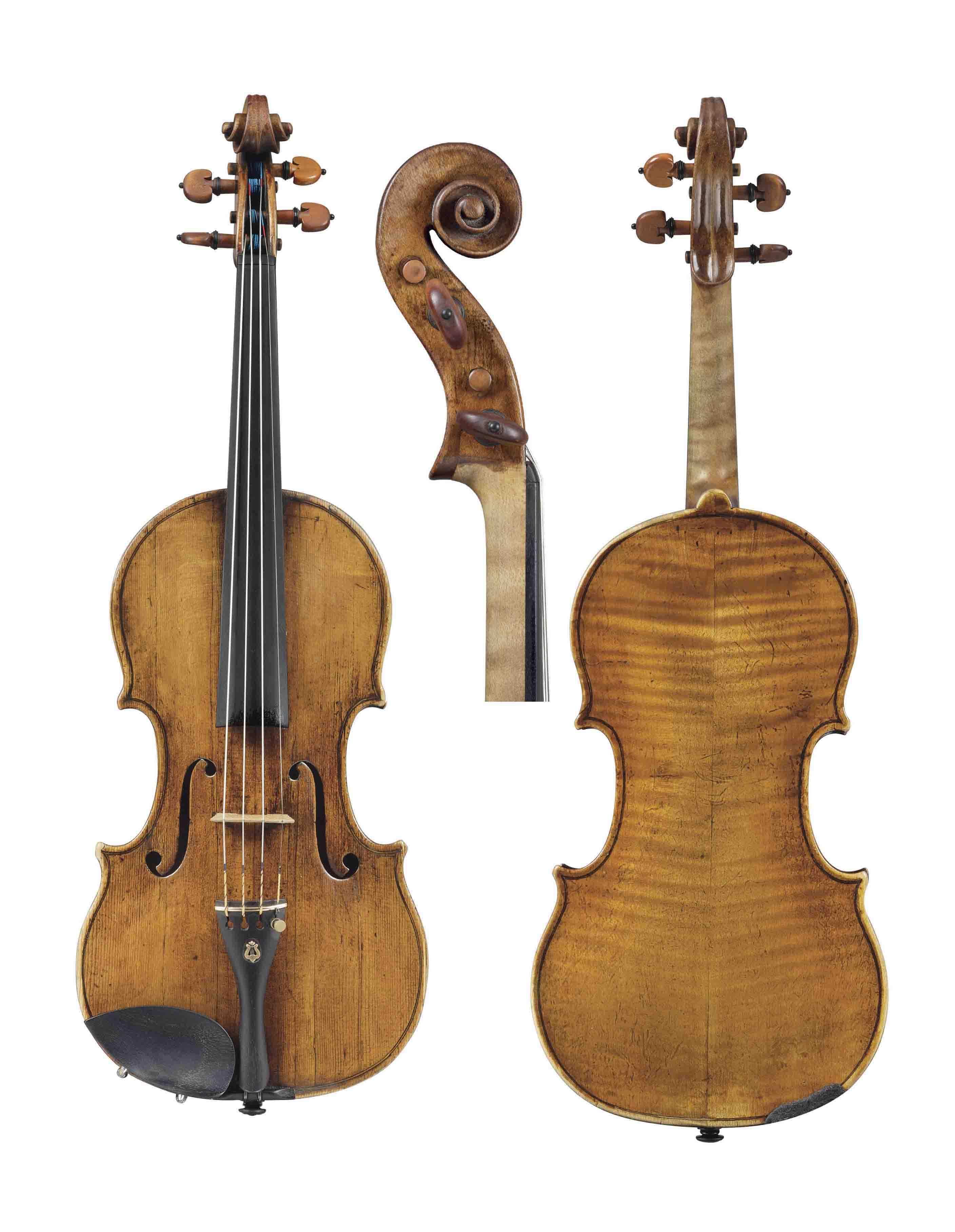 Violin by Januarius Gagliano, Naples 1774 - Photography ...