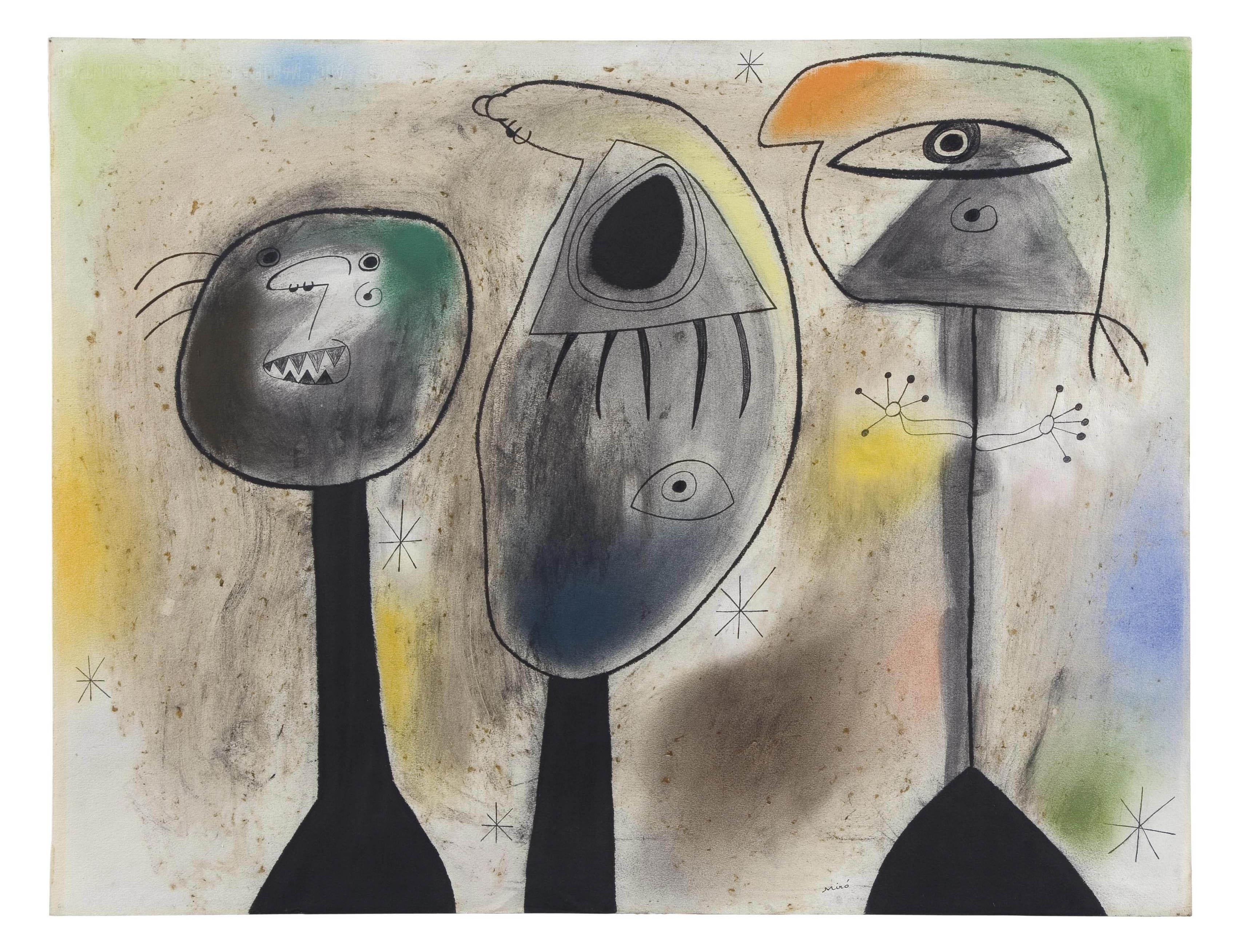 Audio: Joan Miro, Personnages dans la nuit