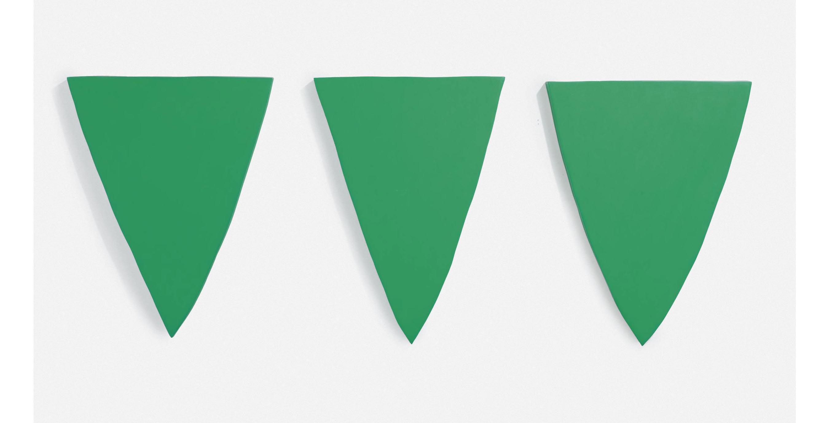 Green Triptych