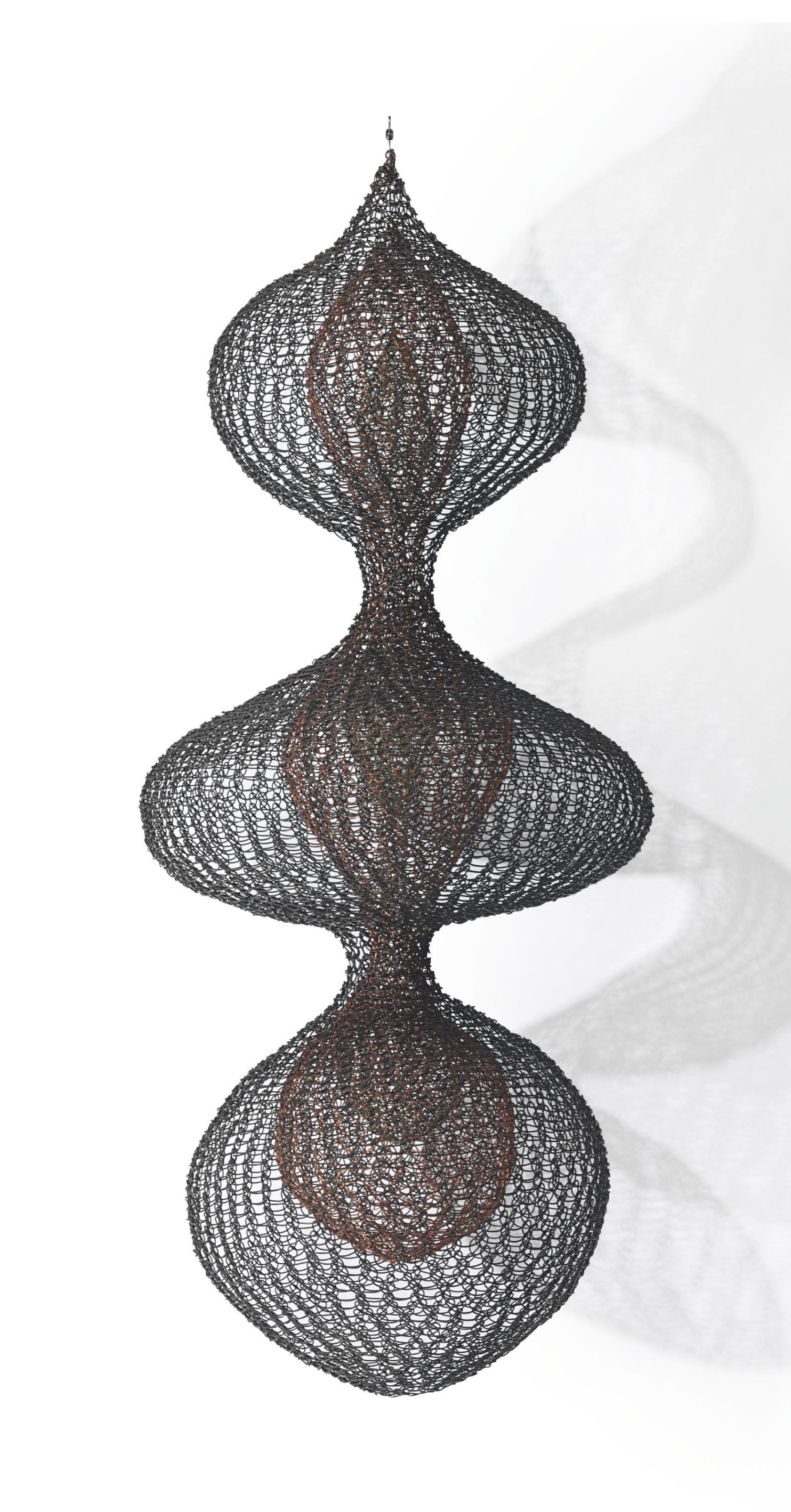 Untitled S.387 (Three Lobed Continuous Form with Two Interior Lobed Continuous Forms)