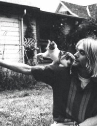 Kurt with cheeky num-num