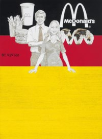 Untitled (McDonald's Stock Certificate, German Version)