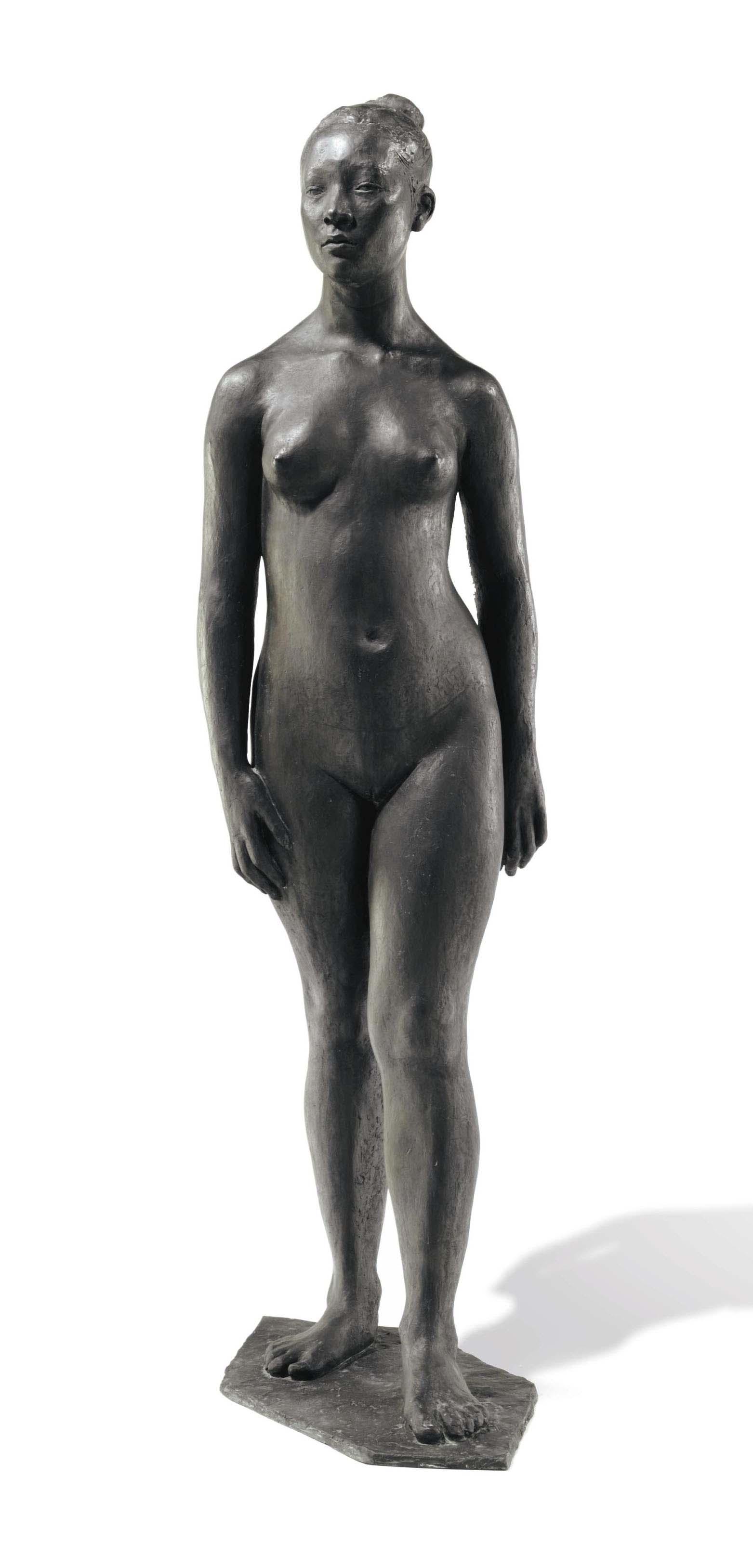 Desnudo de adolescente I