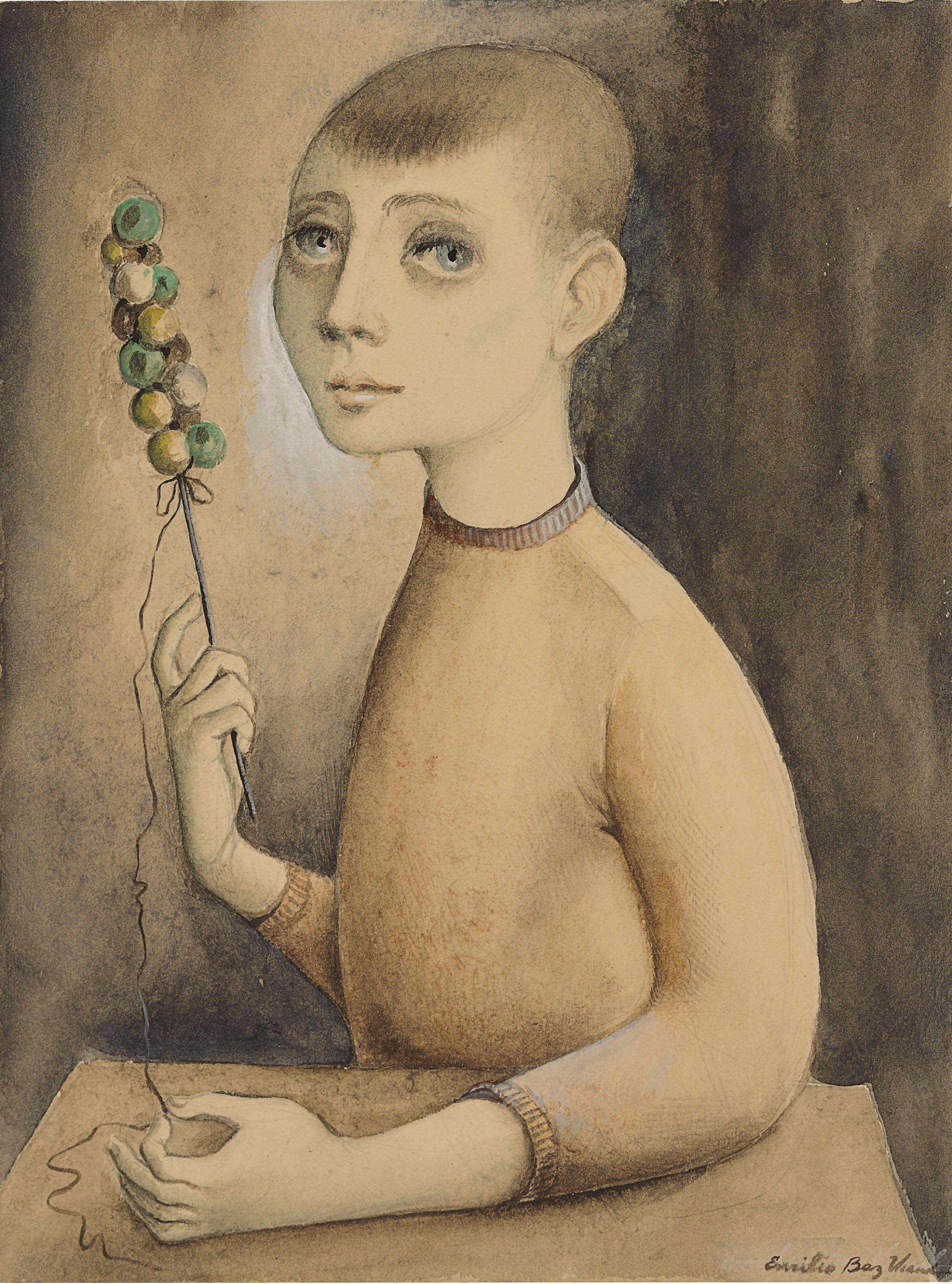 Emilio Baz Viaud (Mexican 1918-1991)