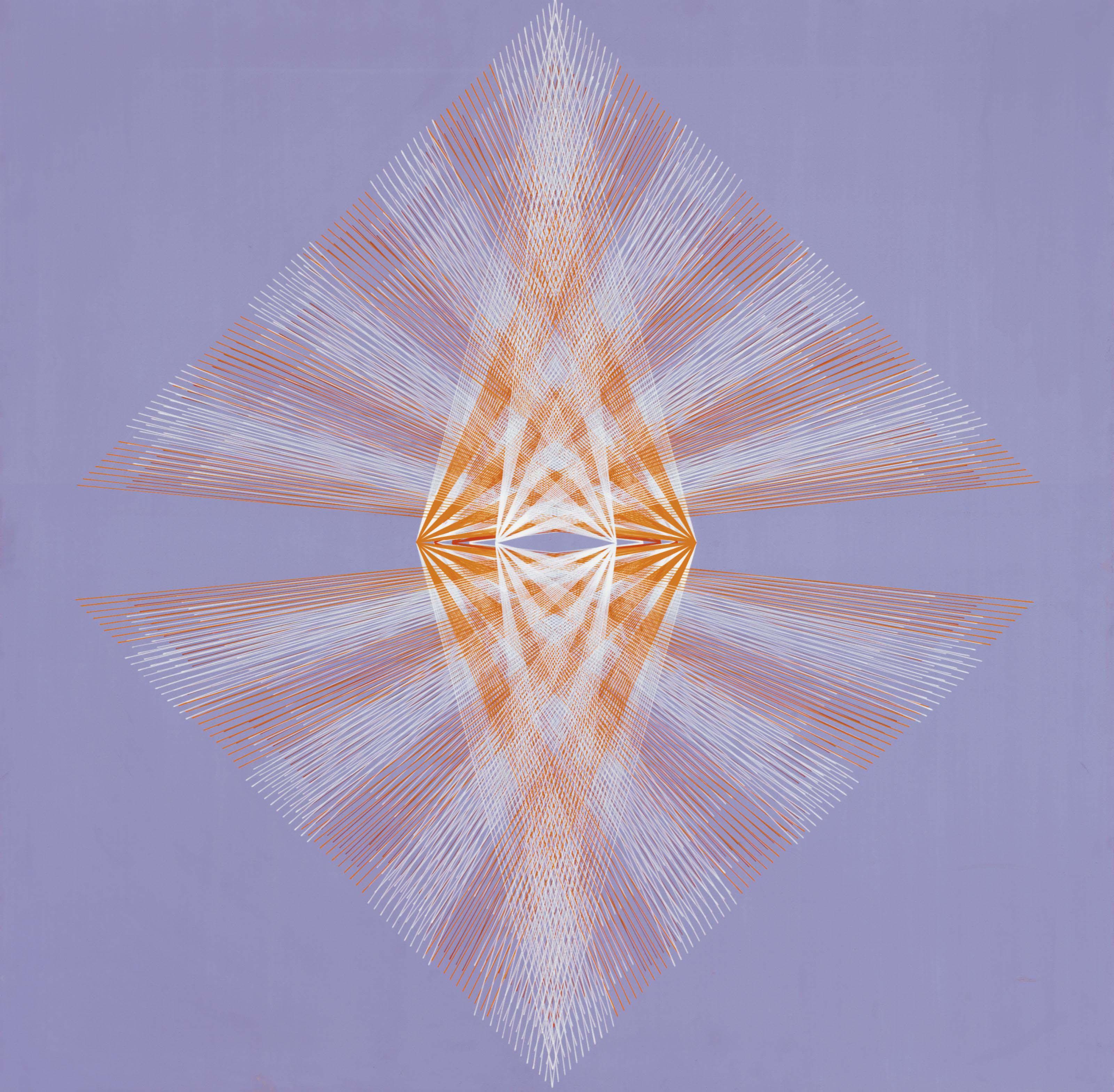 Pintura generativa, Mandala I