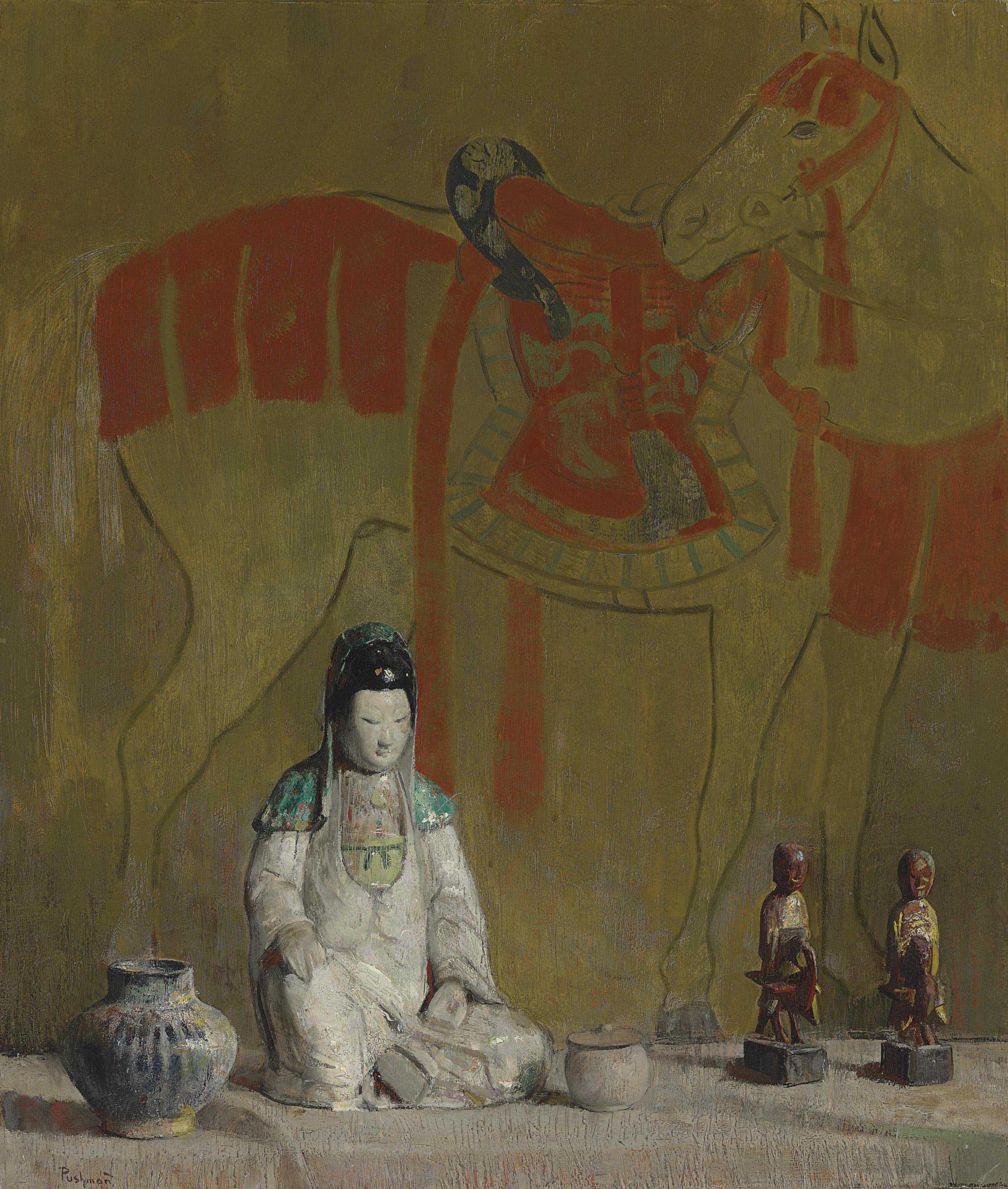 Still Life: The Tang Horse