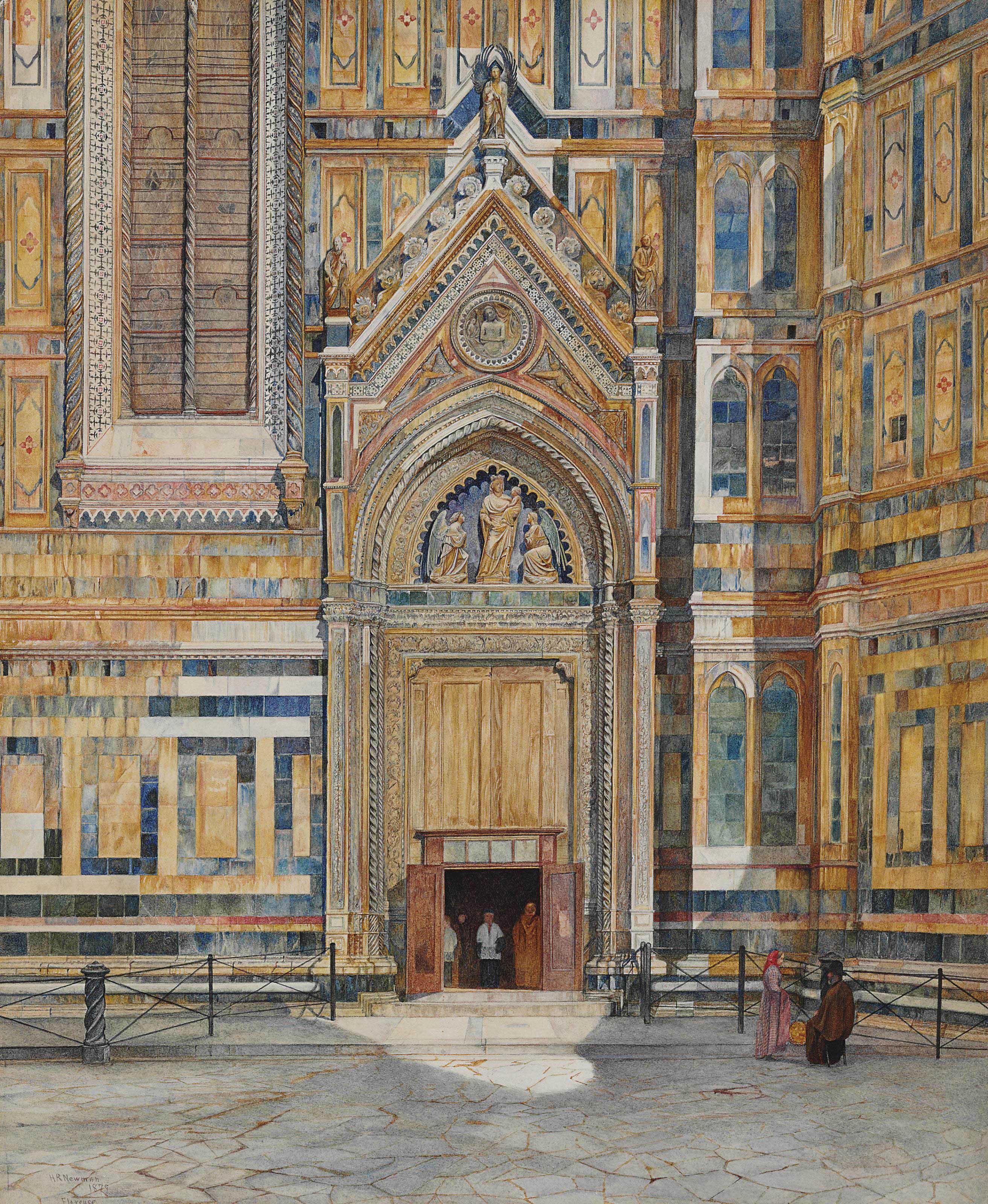 Porta dei Canonici, Duomo, Florence