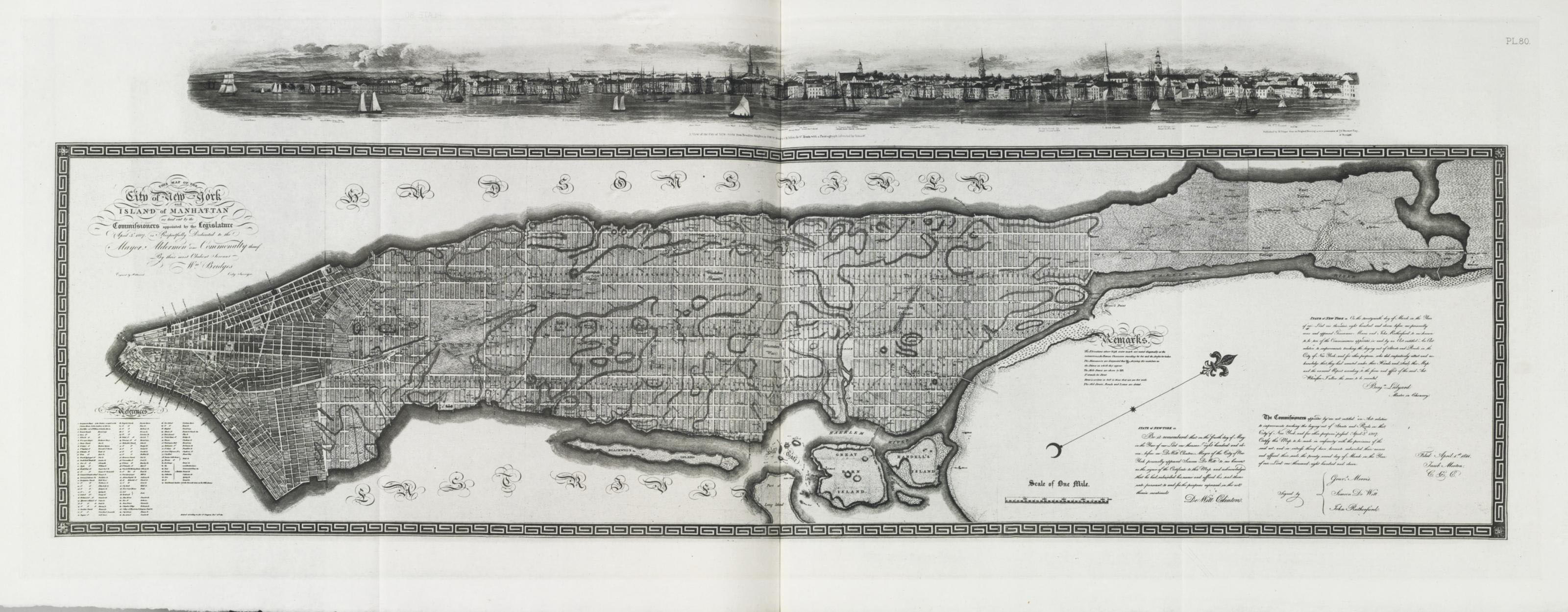 STOKES, Isaac Newton Phelps (1867-1944).  The Iconography of Manhattan Island.   New York: Robert H. Dodd, 1915-1928.