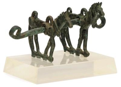 A LURISTAN BRONZE HORSEBIT